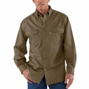 Carhartt Sandstone Twill Shirts - Relaxed Fit - Irregular