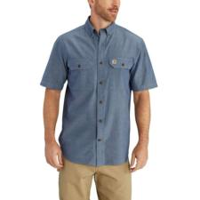 Carhartt Men's Short -Sleeve Chambray Shirt S200
