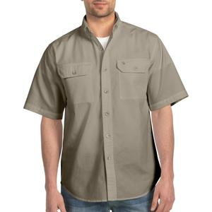Carhartt Men's Short -Sleeve Chambray Shirt