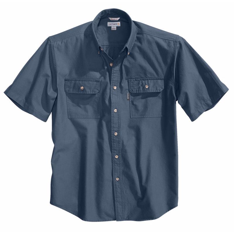 Carhartt Men's Short -Sleeve Chambray Shirt - Irregular