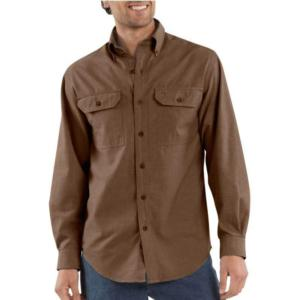 Carhartt Men's Long -Sleeve Chambray Shirt