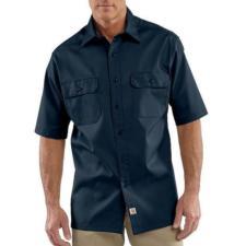 Carhartt Mens Twill Short-Sleeve Work Shirt S223