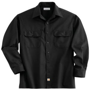 Carhartt Long-Sleeve Twill Work Shirt