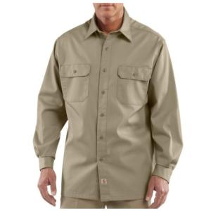 Carhartt Long-Sleeve Twill Work Shirt