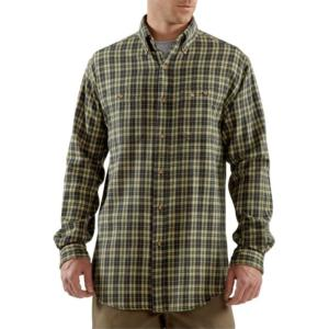 Carhartt Men's Midweight Flannel Plaid Shirt