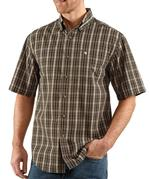 Carhartt Men's Short Sleeve Classic Plaid Shirt S274