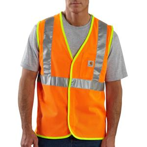 Carhartt Men's High Visibility Class 2 Mesh Vest