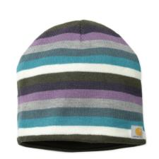 Carhartt Women's Striped Knit Hat/Fleece Lined-CLOSEOUT WA002CO
