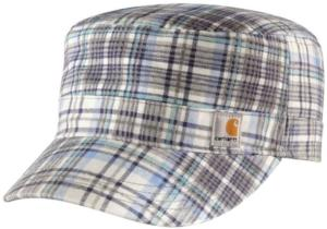 Carhartt Women's Hendrie Plaid Military Cap - Irregular