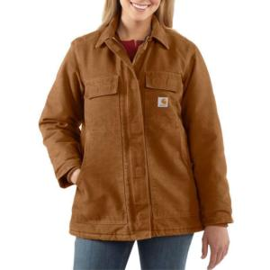 Carhartt Women's Sandstone Traditional Coat-Arctic Quilt Lined