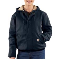 Carhartt Women's Flame Resistant Midweight Canvas Active Jac WFRJ130