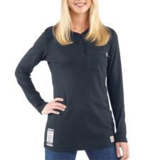 Carhartt Women's Flame Resistant Long Sleeve Henley WFRK293