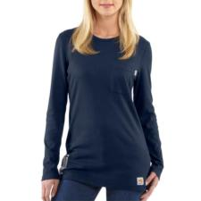 Carhartt Women's Flame Resistant Long Sleeve T-Shirt WFRK294