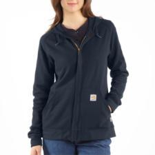 Carhartt Women's Flame Resistant Zip Front Hooded Sweatshirt WFRK296