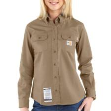 Carhartt Women's Flame Resistant Twill Shirt WFRS160