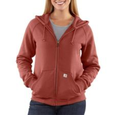 Carhartt Women's Thermal Lined Zip-Front Hooded Sweatshirt WJ012