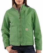 Carhartt Women's Sandstone Sherpa Lined Canyon Jacket - Closeout WJ022