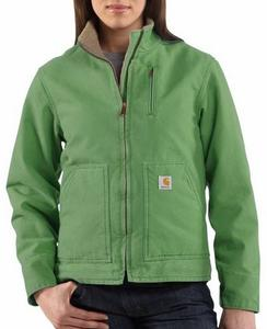 Carhartt Women's Sandstone Sherpa Lined Canyon Jacket - Closeout
