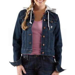 Carhartt Women's Tomboy Jacket With Fleece Hood