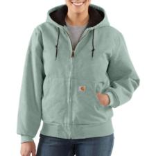 Carhartt Women's Sandstone Active Jac/Quilted Flannel Lined WJ130