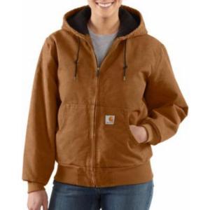 Carhartt Women S Sandstone Flannel Lined Active Jac