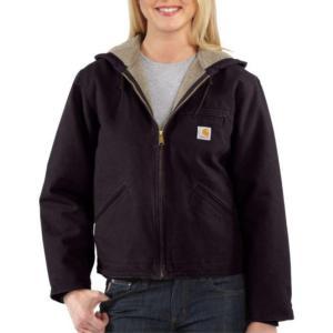 Carhartt Women's  Sandstone Sierra Sherpa-Lined  Jacket - Irregular