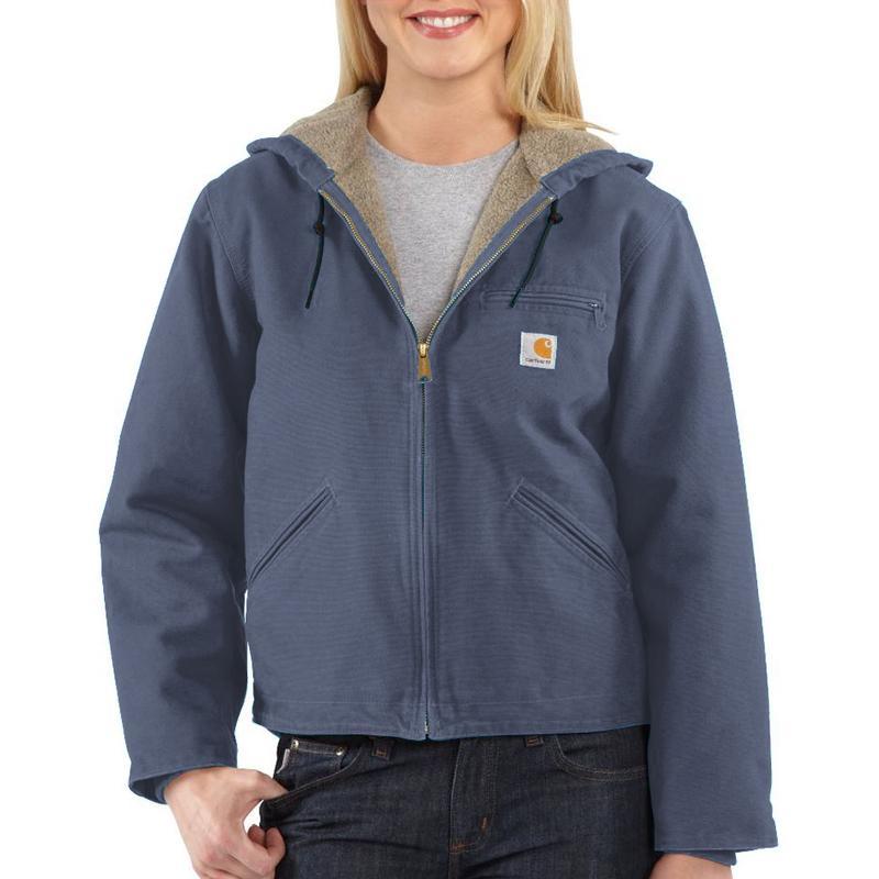 Carhartt Women's  Sandstone Sierra Sherpa-Lined  Jacket -...