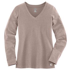 Carhartt Women's Lightweight Long-Sleeve V-Neck T-Shirt - Closeout!