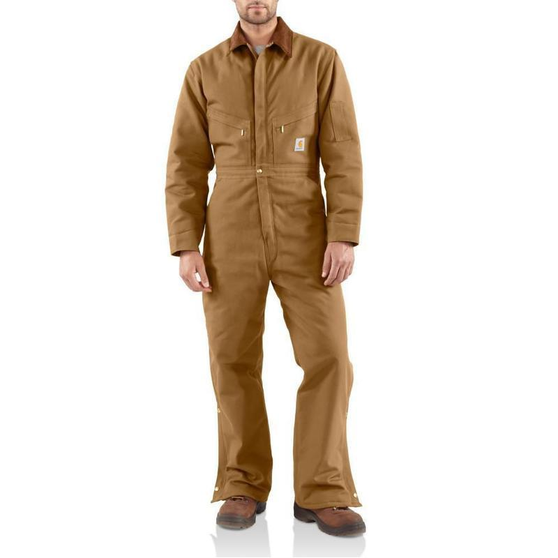 Carhartt Men's Duck Coveralls - Quilt Lined