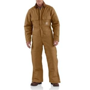 Carhartt Men's Duck Coveralls- Arctic Quilt Lined