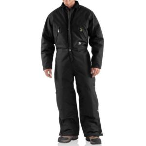 Carhartt Extremes Zip Front Coverall - Quilt Lined