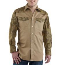 Carhartt Mens Ironwood Twill Work Shirt s209