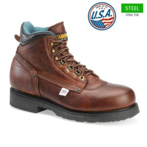 Carolina Men's 6 in. Steel Toe Boots - MADE IN USA