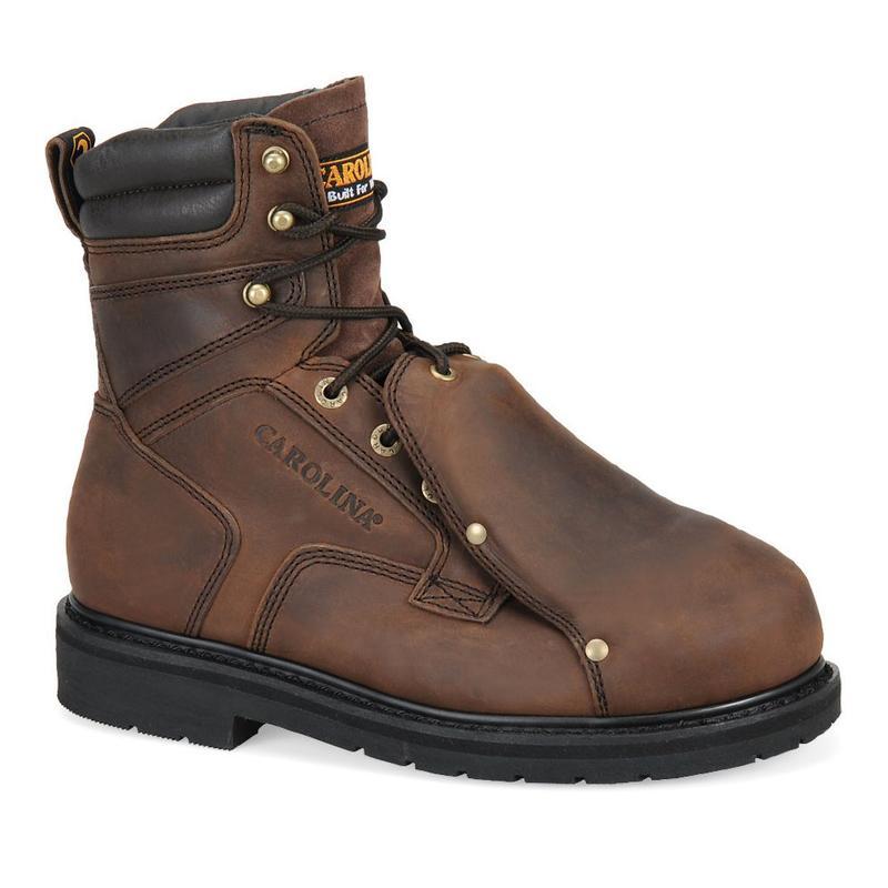 Steel Broad Toe Metatarsal Guard Boots