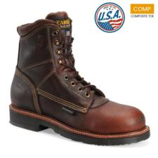 Carolina Men's 8 in. Waterproof Composite Toe Work Boot-MADE IN USA CA1816