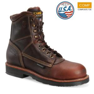 Carolina Men's 8 in. Waterproof Composite Toe Work Boot-MADE IN USA