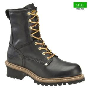 Carolina Men's 8 in.Steel Toe Logger Boots