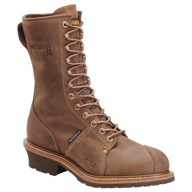 2248389c2a0 Carolina Men's 10 in. Waterproof Composite Toe Linesman Boots