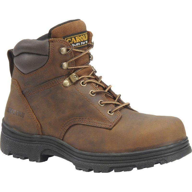 60b0906a109 Carolina Men's 6in. Steel Toe EH Slip Resistant Waterproof Boots
