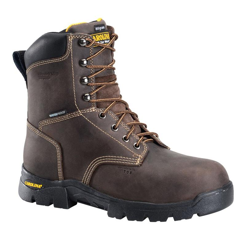 19a3860dcb2 Carolina Men's 8 in. Waterproof Insulated Composite Toe Work Boot