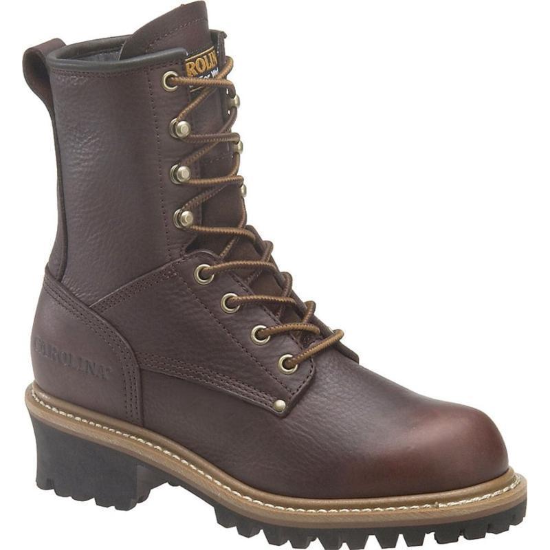 Carolina Women's 8 inch Logger Boots