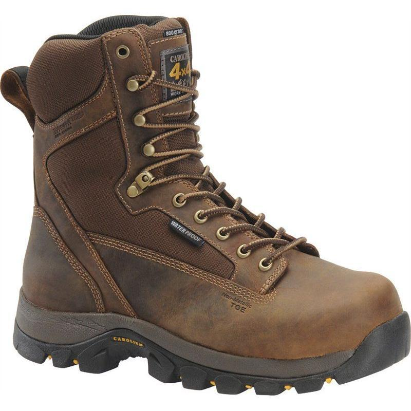 Carolina Mens 8 in. Waterproof Insulated Composite Toe 4X4 CA4515