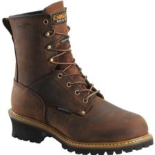 Carolina Men's  8 in. Waterproof Insulated Logger Boots CA4821