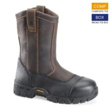 Carolina Men's EH Waterproof  Composite Broad Toe Wellington Boots CA5533