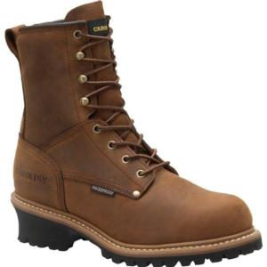 Carolina Men's 8 in. Waterproof Insulated EH Steel Toe Logger Boots