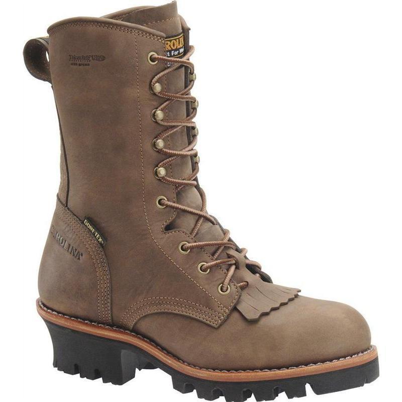 Carolina 10 inch Steel Toe Insulated Gore-Tex Kiltie Logger CA7519