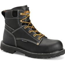 Carolina Men's 6 in. Black Waterproof  Composite Toe Work Boot CA7530