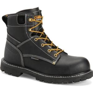 Carolina Men's 6 in. Black Waterproof  Composite Toe Work Boot