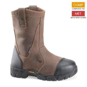 Carolina Men's Waterproof Broad Composite Toe Internal Met Wellington Boots