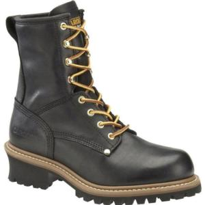 Carolina Men's 8 in. Plain Toe  Logger Boots